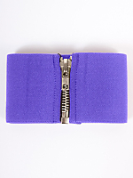 Wide Elastic Zipper Belt