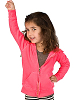 Kids 3-End Fleece Zip Hoodie
