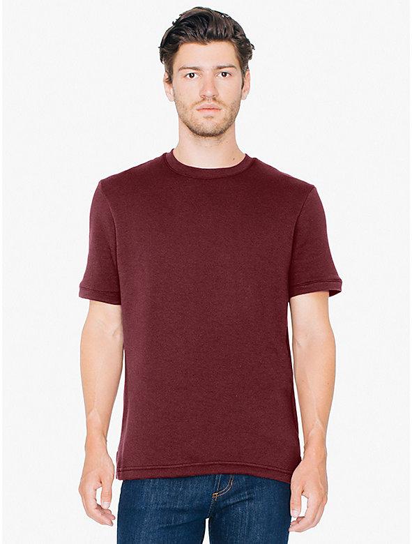 Flex Fleece Short Sleeve Crewneck Sweatshirt