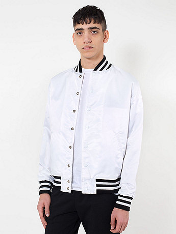 Nylon Flight Satin Club Jacket