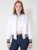 Unisex Nylon Flight Satin Club Jacket