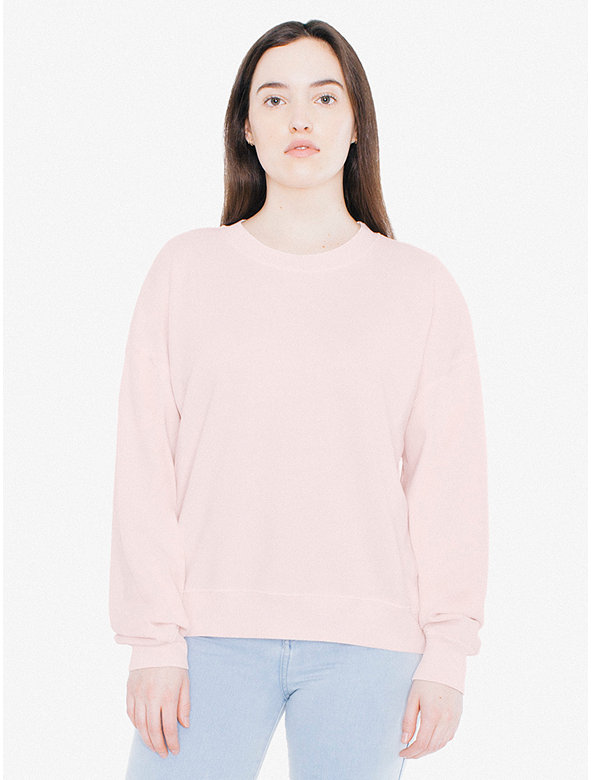 Lightweight French Terry Boxy Sweatshirt
