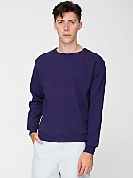 French Terry Drop-Shoulder Sweatshirt
