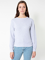 Unisex French Terry Drop-Shoulder Sweatshirt