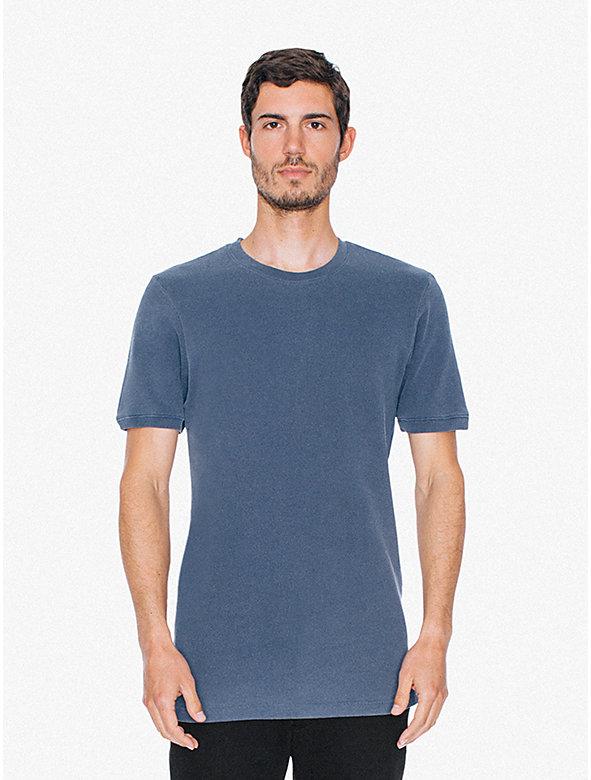 French Terry Short Sleeve Crewneck Sweatshirt