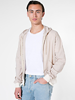 Poplin Hooded Zip Jacket