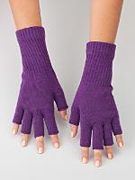 Unisex Acrylic Fingerless Glove