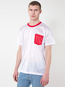 Athletic Contrast Pocket Tee