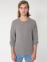 Herringbone Long Sleeve Raglan Pullover