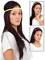 (3-Pack) Stretch Braided Headband