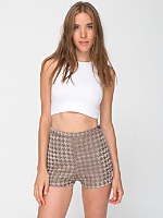 Houndstooth Tap Short