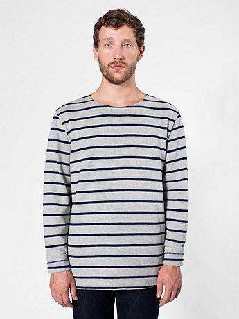 Sailor Stripe Long Sleeve Pullover
