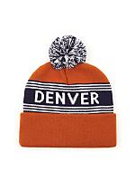 Pom Pom Denver Beanie