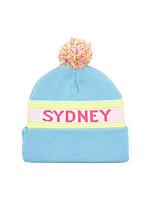 Pom Pom Sydney Beanie