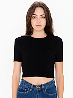 Knitted Classic Crop Tee