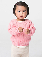 Infant Cable Knit Sweater
