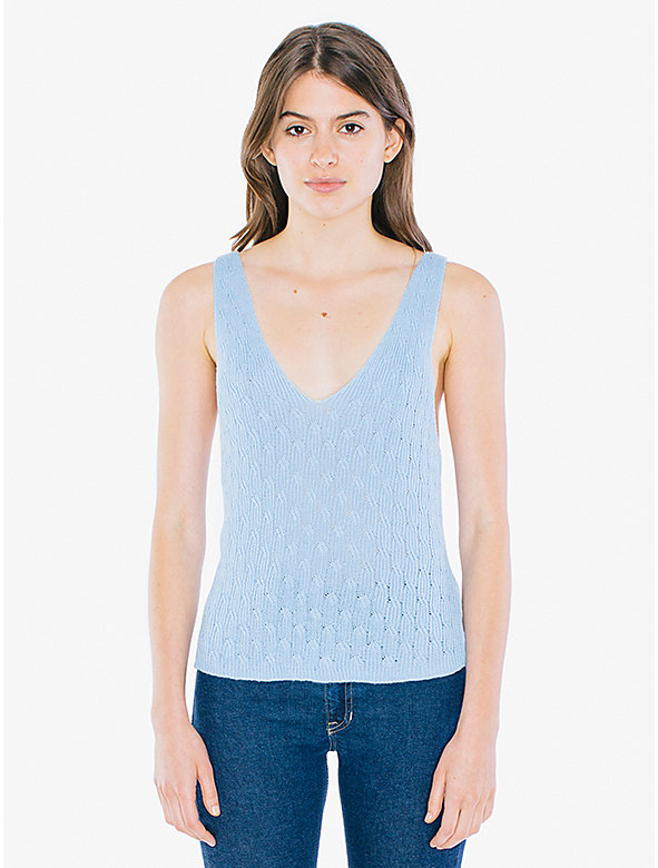 Cable Knit Easy Tank