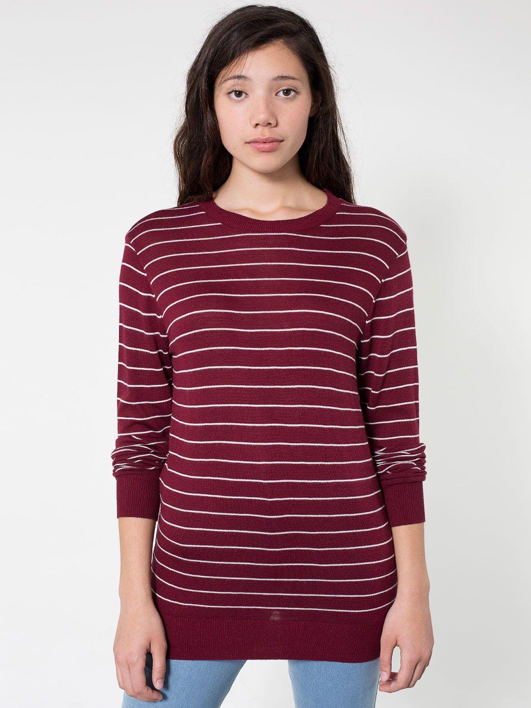 Unisex Knit Sweater Crew Neck 105