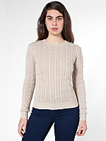 Women's Cable Knit Pullover