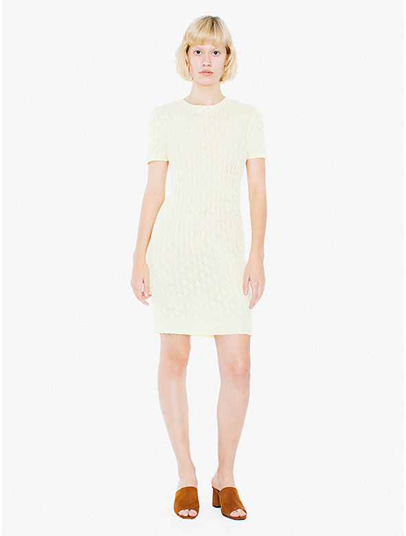 Cable Knit Tennis Dress