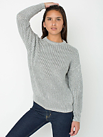 Unisex Metallic Fisherman's Pullover