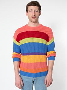 Stripe Fisherman's Pullover