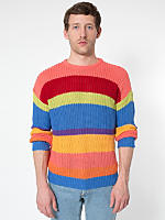 Stripe Fisherman's Pullover
