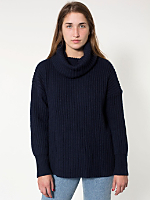 Unisex Oversized Fisherman Turtleneck Sweater
