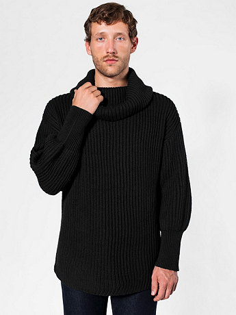 Oversized Fisherman Turtleneck Sweater
