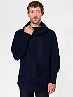 Oversized Fisherman Turtleneck Sweater
