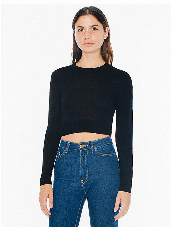 Lightweight Crop Sweater