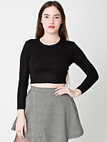 Lightweight Cotton Crop Sweater