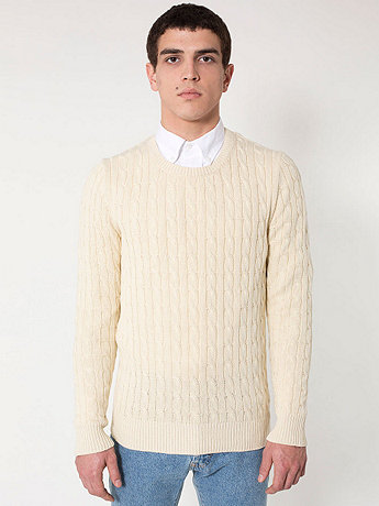 Men's Cable Knit Sweater