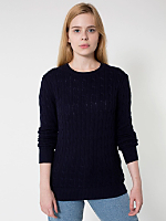 Unisex Cable Knit Sweater