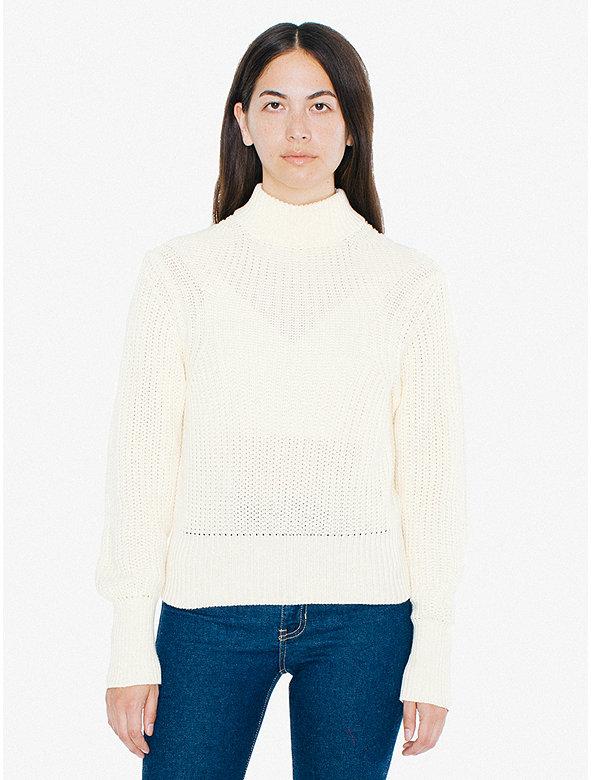 Women's Mock Neck Pullover