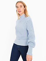 Women's Mock Neck Pullover