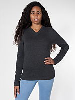 Unisex Wool V-Neck Sweater