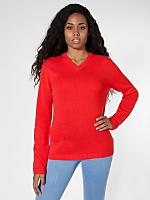 Unisex Wool V-Neck Sweater