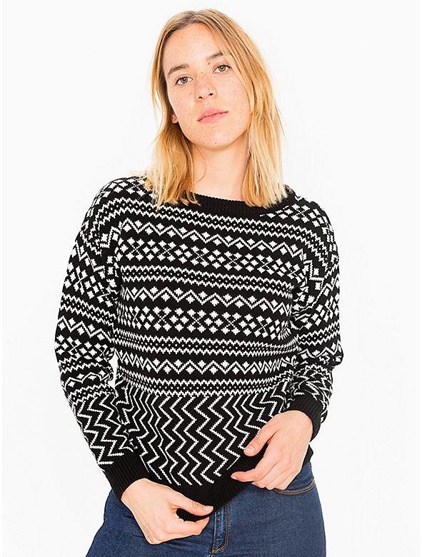 Patterned Ski Sweater