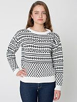 Patterned Ski Sweater