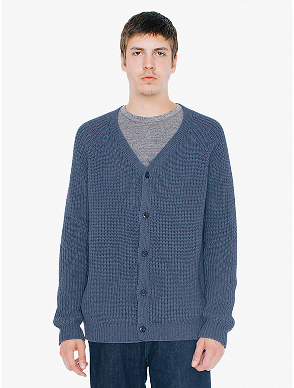 Recycled Cotton Fisherman Cardigan