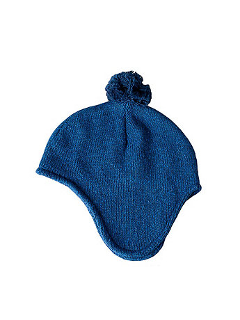 Unisex Recycled Cotton-Acrylic Blend Snow Cap