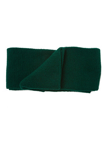 Unisex Acrylic Knit Circle Scarf
