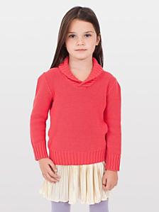 Kids' Shawl Collar Sweater