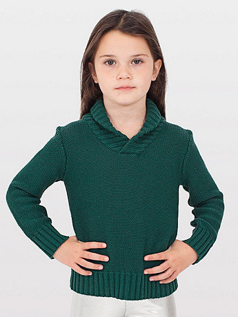 Kids' Shawl Collar Sweater