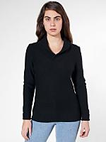 Unisex Wool Shawl Collar Pullover