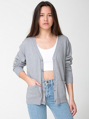 Unisex Cotton Cardigan