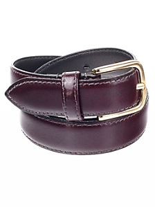 Unisex Basic Leather Belt