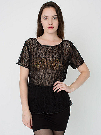 Sunshine Lace Tee