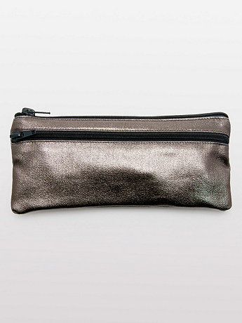 Shiny Denim Pencil Case